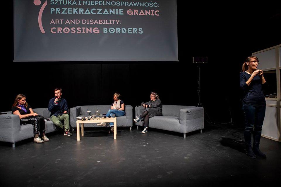 Sztuka iNiepełnosprawność: Przekraczanie granic | konferencja