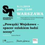 Powązki Wojskowe - spacer szlakiem ludzi sceny