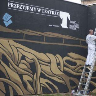 Wernisaż muralu Karola Zydora wGorzowie Wielkopolskim